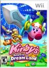 Boîte US de Kirby sur Wii