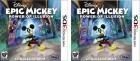 Capture de site web de Disney Epic Mickey : Power of Illusion sur 3DS
