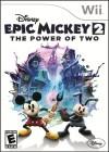 Boîte US de Epic Mickey 2 : Le retour des héros sur Wii
