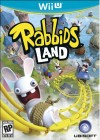 Boîte US de The Lapins Crétins Land sur WiiU