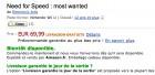 Capture de site web de Need for Speed : Most Wanted U sur WiiU