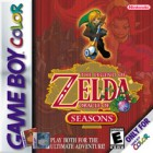 Boîte US de The Legend of Zelda : Oracle of Seasons (CV) sur 3DS
