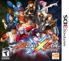 Boîte US de Project X Zone sur 3DS