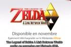 Capture de site web de The Legend of Zelda : A Link Between Worlds sur 3DS