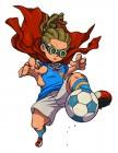 Artworks de Inazuma Eleven 3 : Foudre céleste / Feu explosif sur 3DS