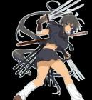 Artworks de Senran Kagura Burst : Crimson Girls sur 3DS