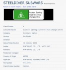 Capture de site web de Steel Diver : Sub Wars sur 3DS