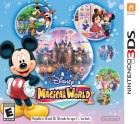 Boîte US de Disney Magical World sur 3DS