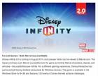 Capture de site web de Disney Infinity sur WiiU