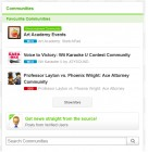 Capture de site web de Miiverse