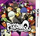 Boîte US de Persona Q : Shadow of the Labyrinth sur 3DS
