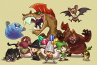 Artworks de Fantasy Life sur 3DS