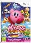 Boîte FR de Kirby's Adventure Wii sur Wii