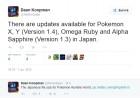 Capture de site web de Pokémon Rubis Oméga / Saphir Alpha sur 3DS