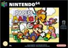 Boîte FR de Paper Mario sur N64