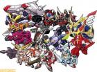 Artworks de Super Robot Taisen BX sur 3DS