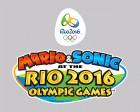 Logo de Mario & Sonic aux Jeux Olympiques de Rio 2016 sur WiiU
