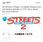 Capture de site web de 3D Streets Of Rage 2 sur 3DS