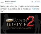 Capture de site web de Nintendo présente : La Nouvelle Maison du Style 2 - Les reines de la mode sur 3DS