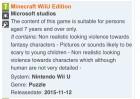 Capture de site web de Minecraft: Wii U Edition sur WiiU