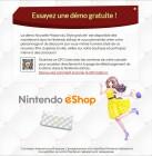 Screenshots maison de Nintendo eShop