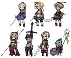 Artworks de The Legend of Legacy sur 3DS