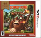 Boîte US de Donkey Kong Country Returns 3D sur 3DS