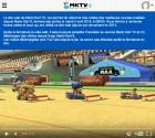 Capture de site web de Mario Kart 8 sur WiiU