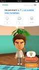 Screenshots de Miitomo sur Mobile