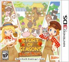 Boîte US de Story of Seasons: Trio of Towns sur 3DS