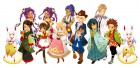 Artworks de Story of Seasons: Trio of Towns sur 3DS