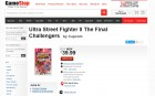Capture de site web de Ultra Street Fighter II: The Final Challengers sur Switch
