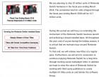 Capture de site web de Conférence Investisseurs