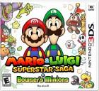 Boîte US de Mario & Luigi : Superstar Saga + les Sbires de Bowser sur 3DS