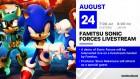 Artworks de Sonic Forces sur Switch
