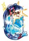 Artworks de Pokémon Ultra Soleil & Ultra Lune sur 3DS