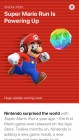 Capture de site web de Super Mario Run sur Mobile
