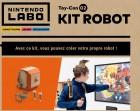 Capture de site web de Nintendo Labo sur Switch