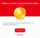 Capture de site web de My Nintendo