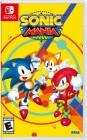 Boîte US de Sonic Mania sur Switch