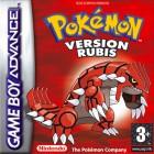 Boîte FR de Pokémon Rubis and Saphir sur GBA
