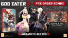 Capture de site web de God Eater 3 sur Switch