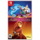 Boîte US de Disney Classic Games :  Aladdin and the Lion King sur Switch