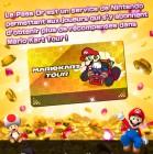 Capture de site web de Mario Kart Tour sur Mobile