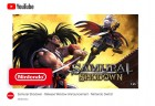 Capture de site web de Samurai Shodown sur Switch