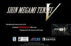 Capture de site web de Shin Megami Tensei V sur Switch
