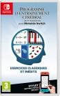 Boîte FR de Programme d'entraînement cérébral du Dr Kawashima pour Nintendo Switch sur Switch