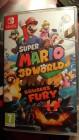 Boîte FR de Super Mario 3D World + Bowser's Fury sur Switch