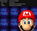Capture de site web de Super Mario 64 sur N64