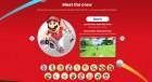 Capture de site web de Mario Golf Super Rush sur Switch